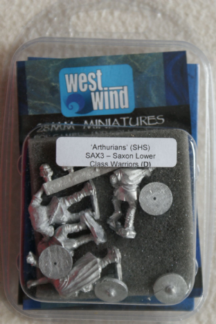 Westwind 28mm SAX-03 Saxon Lower Class Warriors